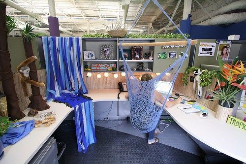 creative cubicle birthday decoration ideas joy studio