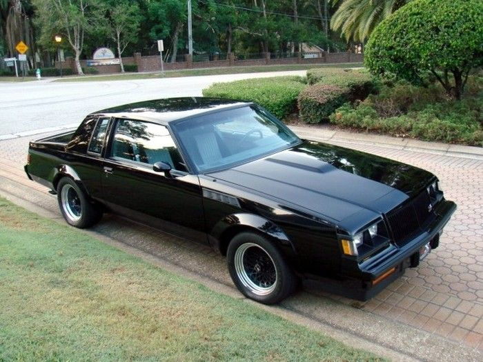 – 1987 Buick GNX One of my favorite cars