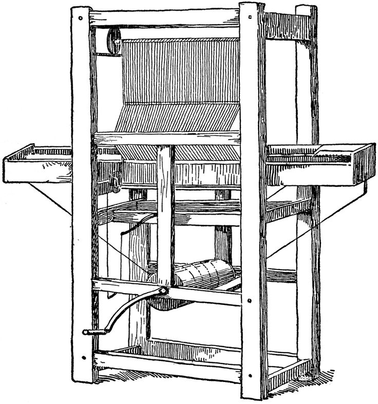 Cartwright's First Power Loom
