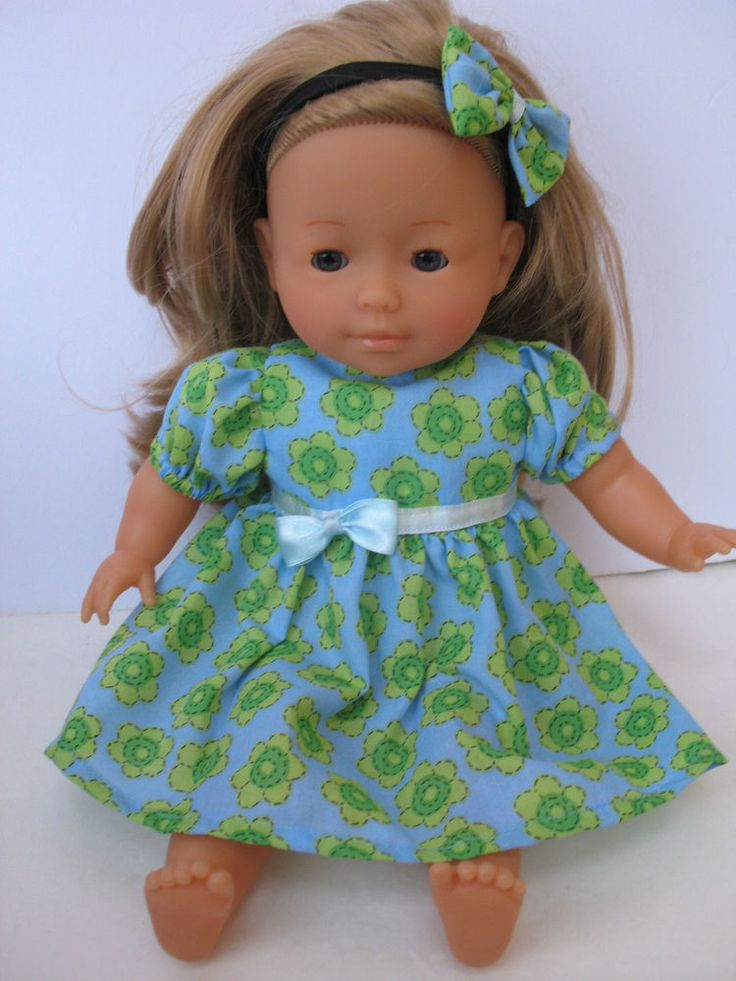 """Clothes for Mademoiselle Miss Corolle14""""Doll  Dress and Headband"""