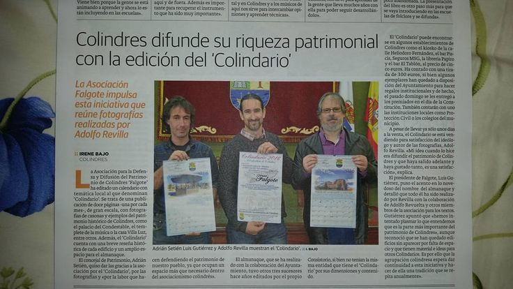 "Colindres Difunde se riqueza patrimonial a traves del ""Colindario"""