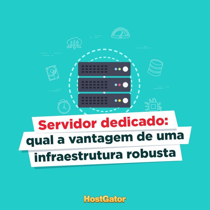 Conheça as vantagens do servidor dedicado HostGator e saiba em quais situações recomendar essa solução.