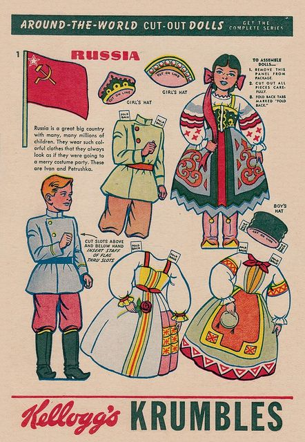 paper doll - russia | Flickr - Photo Sharing!