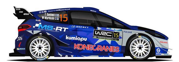 WRC | M-SPORT | #15 | Teemu Suninen - Mikko Markkula ( 8-9 )