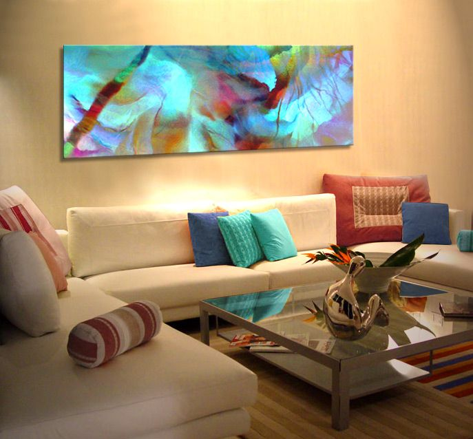 Choose The Right Art For Your Space Experiment With Mediums And Colours