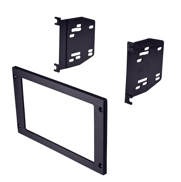 Ai FMK505 1987-1993 Ford Mustang Double DIN Dash Kit