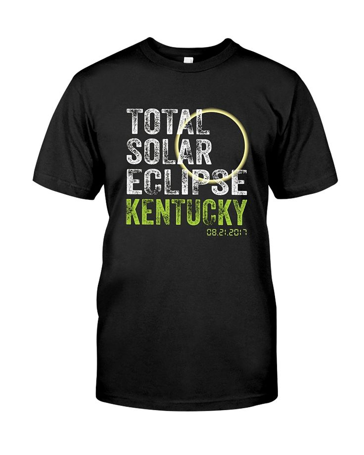 "CHECK OUT OTHER AWESOME DESIGNS HERE!      The solar eclipse of 2017 is happening in America. Get this beautiful graphic tshirt showing ths moon covering the sun, with ""Eclipse 2017"" overlayed. This is the ideal gift for astronomers or any one who is going to see the totality of the solar eclipse.  The path of the total solar eclipse crosses the United States of America on 21 August 2017, make sure you grab this tee to celebrate this magnificent event. Be the envy of..."