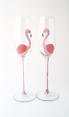 Templates for Painting Wine Glasses | ... Decanter AND Classy Glasses: Hand-painted Designs from Toasted Glass