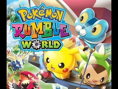 pokemon rumble worlde#2 les couleurs pour rigoler
