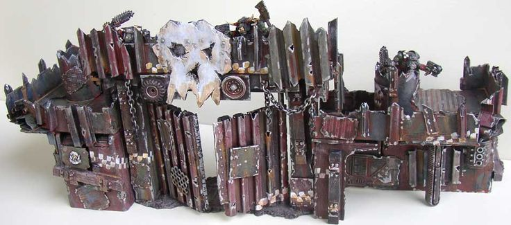 New Ork Scenery on Ironhands.com - Warhammer 40K Fantasy