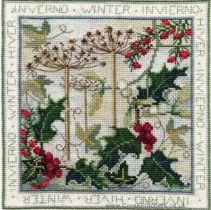 Four Seasons Winter by Derwentwater Designs (4 of 4), counted cross stitch kit