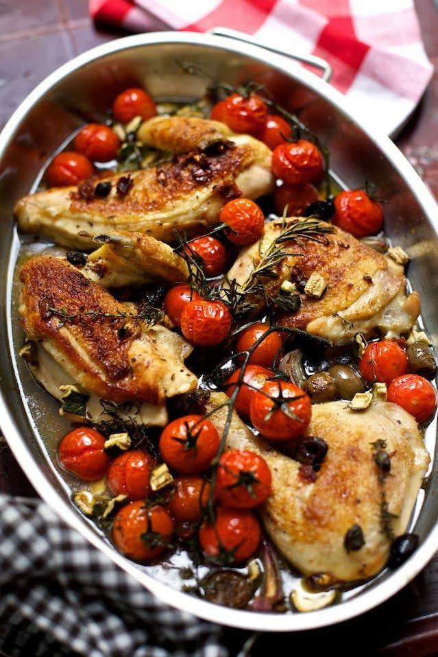 ziiikocht: Mediterranes Huhn und etwas, das Sie unbedingt haben sollten...