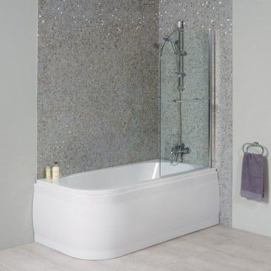 1600 Micro Luxury Right Handed Shower Bath With Straight Bath Screen. Is this bath bigger.