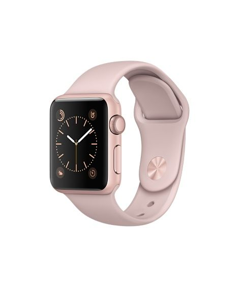 Apple Watch (Series 1 & Series 2) - Rose Gold Aluminum Case with Pink Sand Sport Band  (38mm & 42mm)