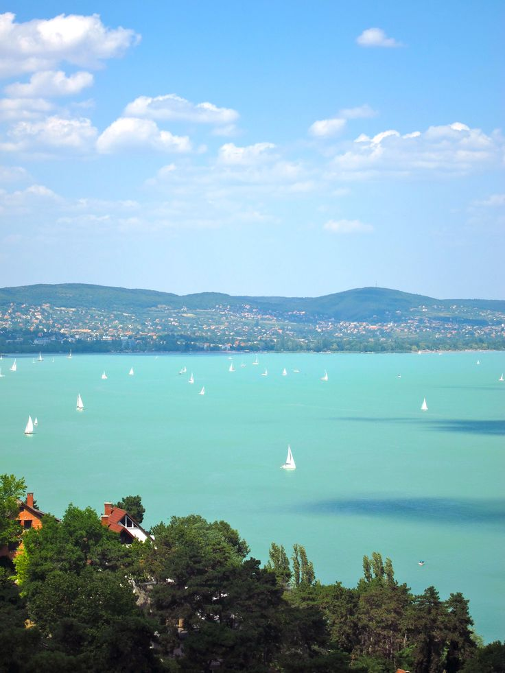 Lake Balaton, Hungary - my homeland AND hopefully we are heading there this summer with my kids, grandkids and spouses...Jaj, de jo lesz!!!!!!!!