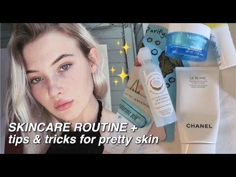 Skincare Routine + Tips & Tricks For Pretty Summer Skin | Okaysage