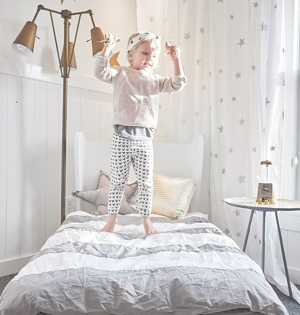 Love this room design and this adorable outfit too!