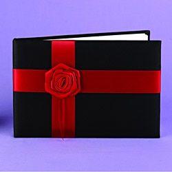 Midnight Rose Guest Book