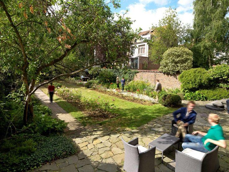 Gardenview at #timesmore #workdifferently #zen #eventorganisation #greenworking #brussels #greeninheartofbrussels