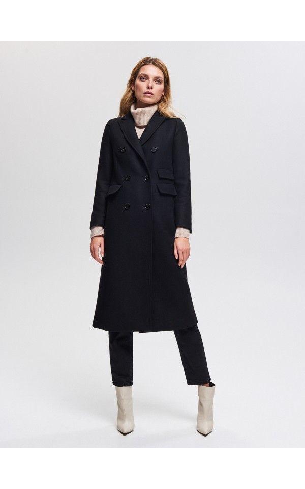 f8013fb8d381 Wełniany płaszcz