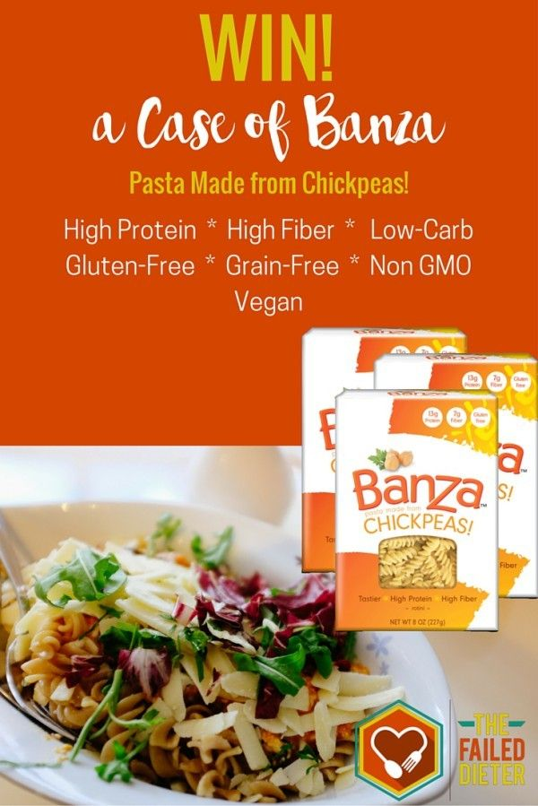 This is a huge obstacle when it comes to losing weight and getting in shape! On most diets, pasta is the first thing to go. But what if I told you you could have your cake and eat it too? Or in this case, your noodles? Have you ever heard of Banza chickpea pasta? It is pasta that is literally made of chickpeas but tastes like regular noodles. Crazy, right?