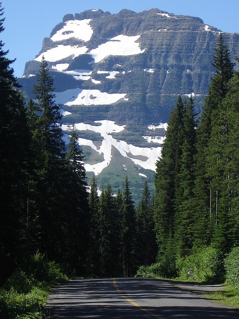 Mountain View On Our Way To Wall Lake Trail Waterton Park by shorrobi, via Flickr