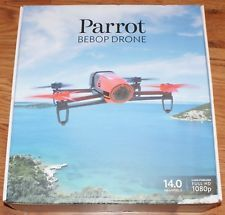 Parrot Bebop Quadcopter Red Drone Radio Controlled Full HD 1080p Model# PF722000