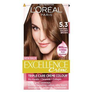 L'Oreal Excellence Crème Golden Brown 5.3