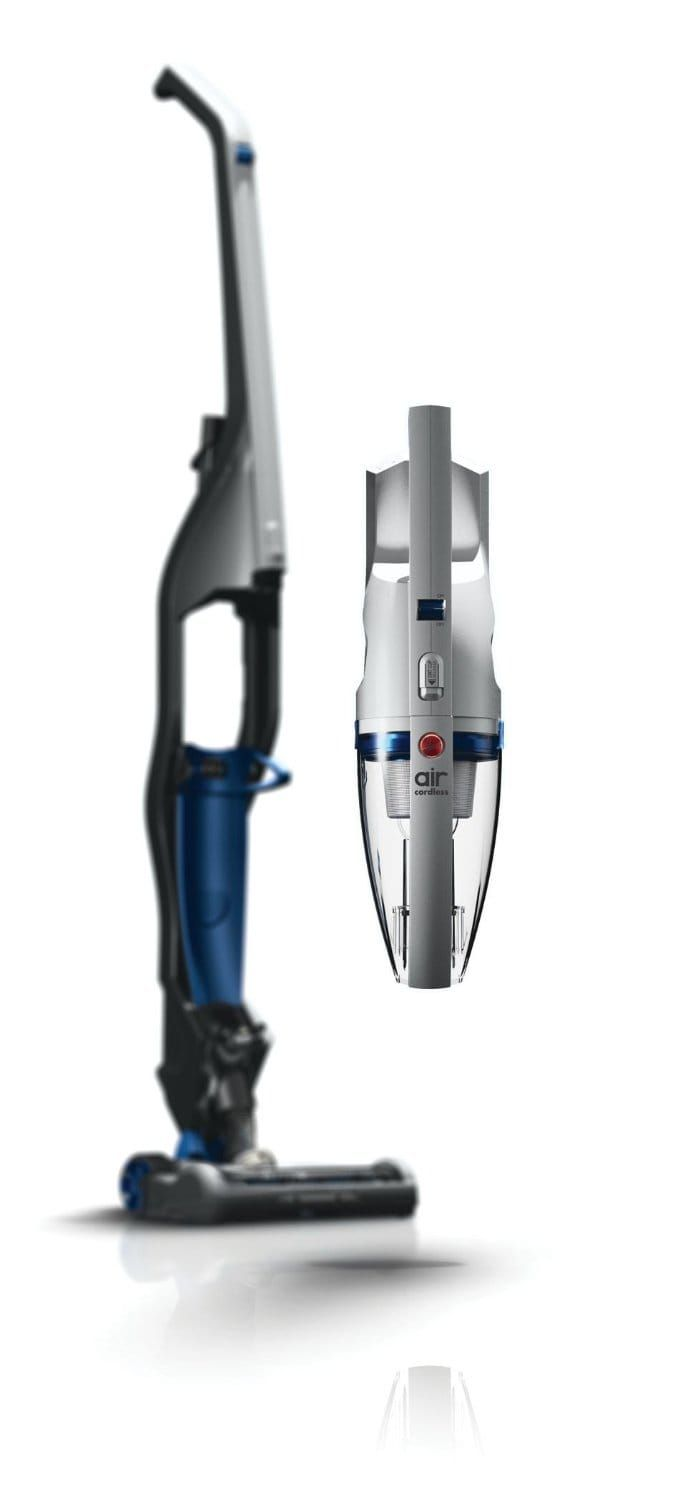​The Hoover Air Cordless 2-in-1 Deluxe is a versatile vacuum cleaner that gives you the option to use it as a traditional upright or as a portable handheld vacuum.