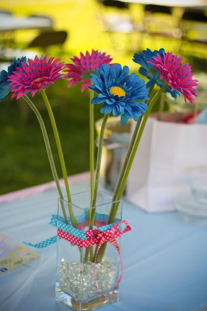 40 best gerber daisy images on pinterest decorating ideas blue and pink gerber daisies junglespirit Gallery