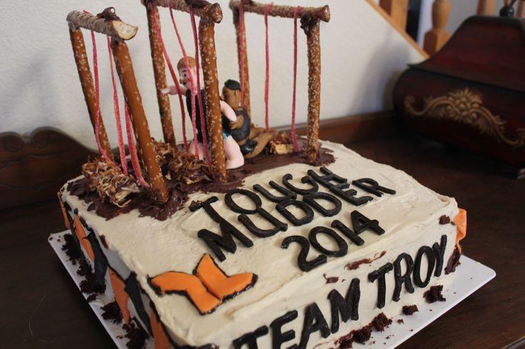 Tough Mudder Electro shock cake!