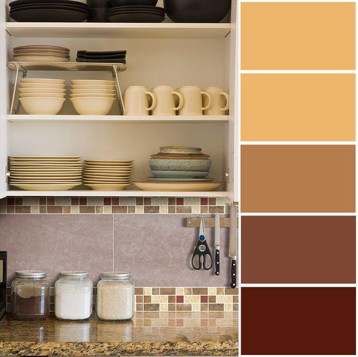 Las tonalidades rojas a terracota evocan en tu hogar calidez, bienvenida y abundancia.