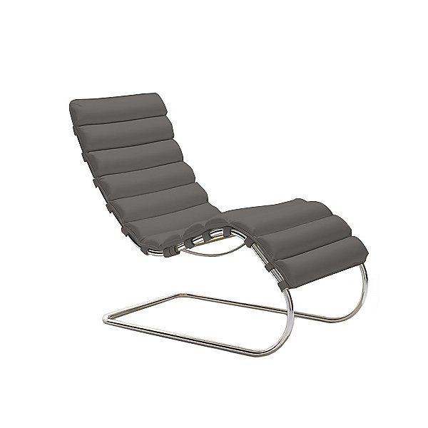 Mr Chaise Lounge By Knoll Color Volo Leather Flint 241ls Vo923 Vo923 Chaise Lounge Chaise Leather