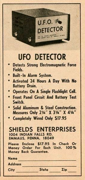 UFO Detector.