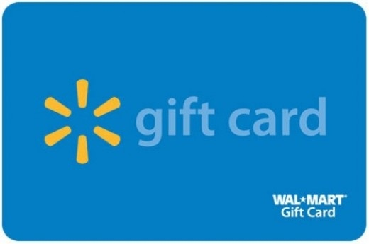 Get a $1,000 Walmart Gift Card today!