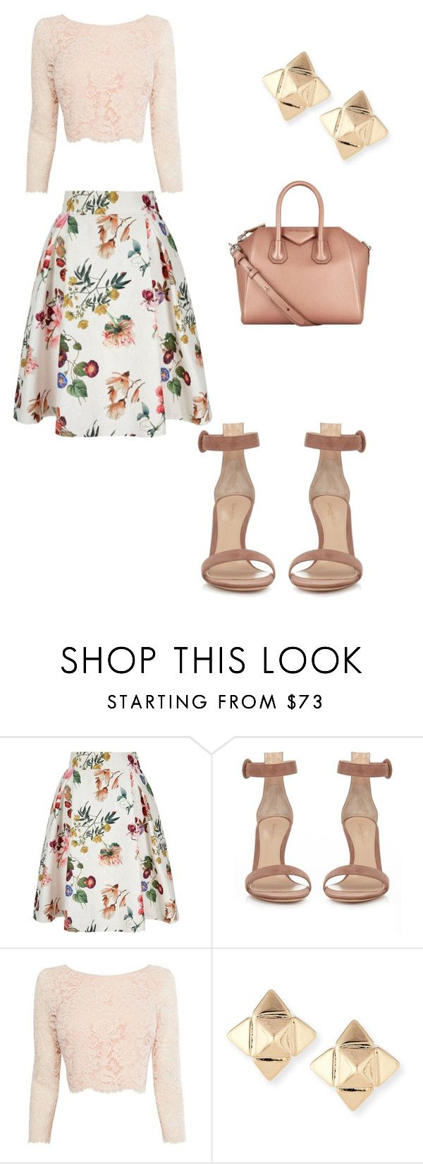 """Sunday's Best"" by williamsnl ❤ liked on Polyvore featuring Yumi, Gianvito Rossi, Coast, Valentino and Givenchy"