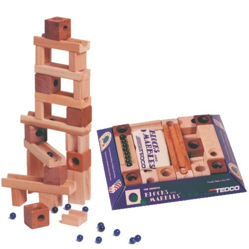 blocks and marbles instructions