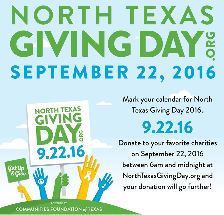 NTGD 2016 homepage Community foundation, Giving day