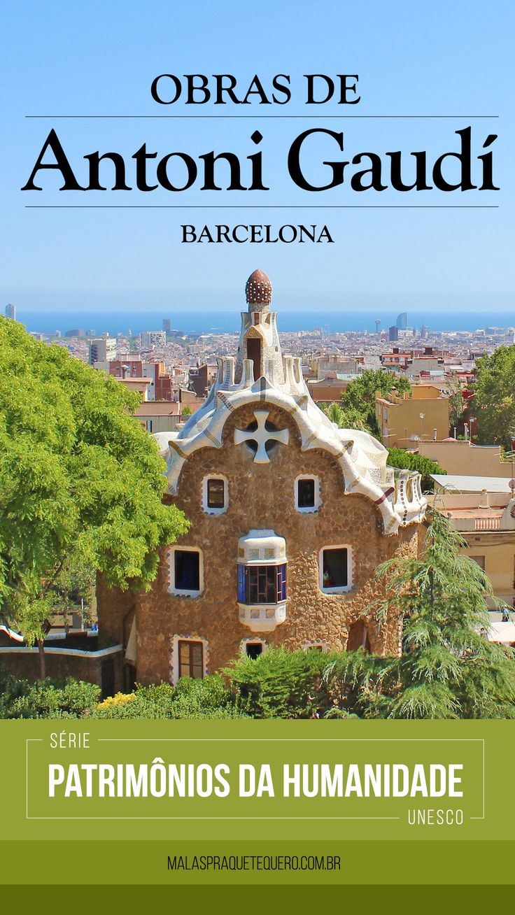 Série Patrimônios da Humanidade da UNESCO: Obras de Antoni Gaudí. Em Barcelona, capital da Catalunha, cidade com grandes marcos arquitetônicos e culturais, além de uma badalada praia banhada pelo Mar Mediterrâneo. Neste vídeo apresentamos os principais pontos turísticos de Barcelona, de A a Z, formando o abecedário da cidade! #barcelona #arquitetura #design #unesco