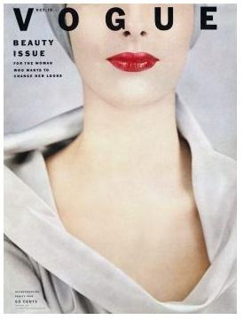 .vogue cover 1954