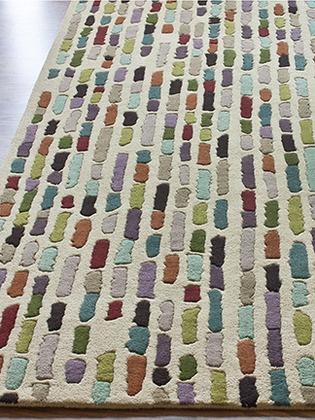 nuloom tiles handmade rug. 5x8 or 7.6x9.6