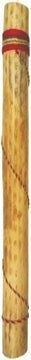 """Handmade 30"""" Cactus Rainstick (CY30) by WILSON'S. $13.95. Features: Note: This rainstick is found in our catalog on page 44, under the item number CY30. Rainsticks or 'Palos de Agua' originated in Northern Chile, but are now also made in Peru. They are made from the dead decayed husks of the many varieties of cacti native to the Andes Mountains. First, suitable pieces of dead cactus are found and cut to proper size. They are then reamed out clean with a steel rebar. The thorns, w..."""