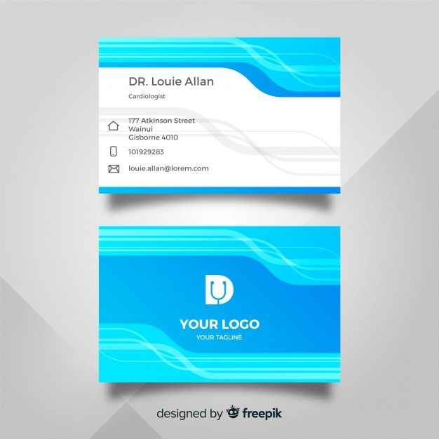 Download Medical Business Card Template With Modern Style For Free Medical Business Card Dental Business Cards Medical Business