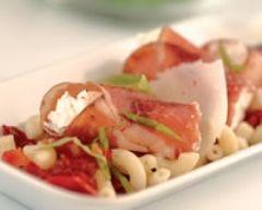 Salade de coquillettes, coppa et parmesan (facile, rapide) - Une recette CuisineAZ