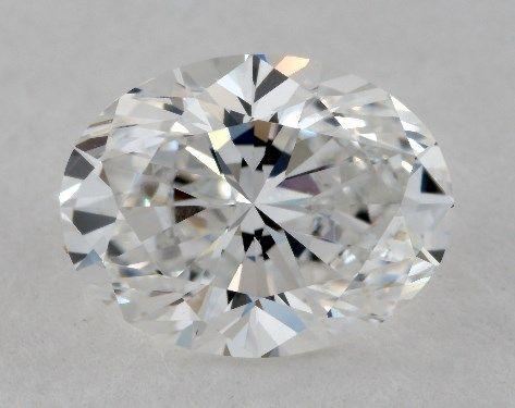 1.52 Carat E-VVS2 Oval Cut Diamond