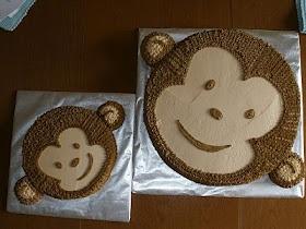 Monkey smash cake