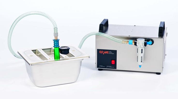 Salvis smart cooking basiert auf dem Hochvakuumiersystem GreenVAC. Das Original von Salvis!