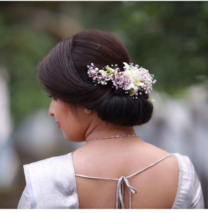 Pin By Aswany Mohan On Bridal Hair Style Christian Bride Bridal Hairdo Bride Hairstyles Updo