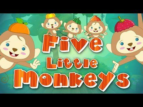 The naughty mokeys cause mayhem on #kidschannel  #nurseryrhyme #kidsong #children #carrhymes #toy #chilsrenssongs #babytv #fivelittlemonekys