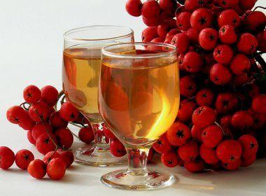 яблочно-рябиновое вино